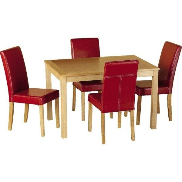 Best 25+ Cheap Dining Room Sets Ideas On Pinterest | Cheap Dining Within Red Dining Table Sets (View 16 of 20)