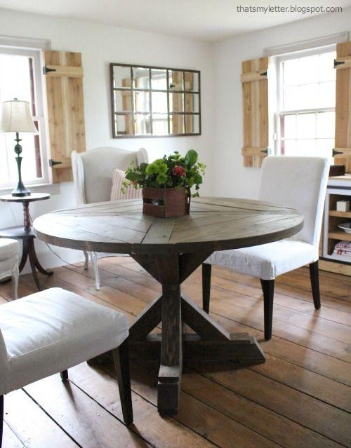 Best 25+ Circular Dining Table Ideas Only On Pinterest | Round Inside Circular Dining Tables (Image 9 of 20)