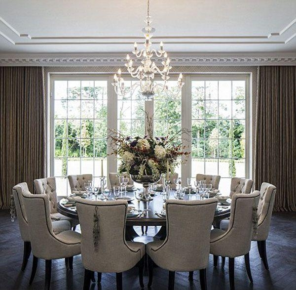 Best 25+ Contemporary Dining Table Ideas On Pinterest | Watch El Pertaining To Huge Round Dining Tables (Image 8 of 20)