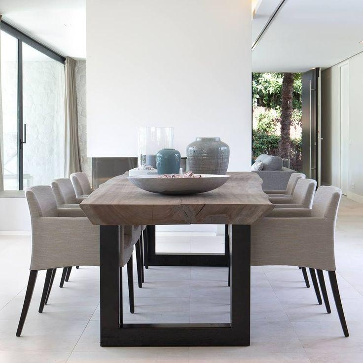 Best 25+ Contemporary Dining Table Ideas On Pinterest | Watch El Regarding Modern Dining Table And Chairs (View 1 of 20)