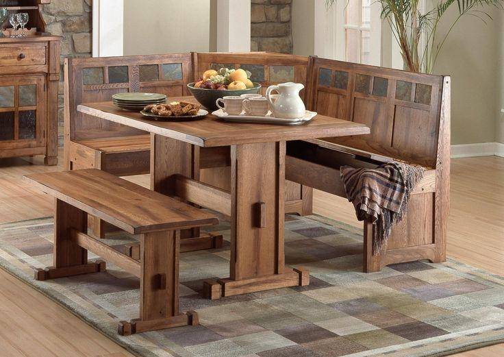 Best 25+ Corner Bench Dining Table Ideas On Pinterest | Corner Within Small Dining Tables And Bench Sets (Image 6 of 20)