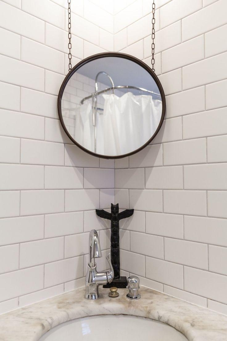 Best 25+ Corner Mirror Ideas On Pinterest | Small Full Length Regarding Contemporary Hall Mirrors (Image 4 of 20)