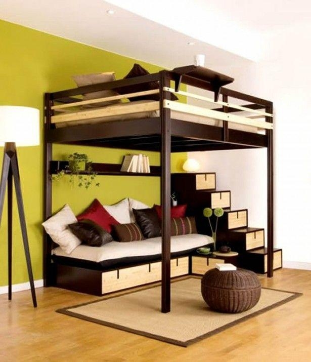 Best 25+ Couch Bunk Beds Ideas On Pinterest | Bunk Bed With Desk With Regard To Bunk Bed With Sofas Underneath (Image 7 of 20)