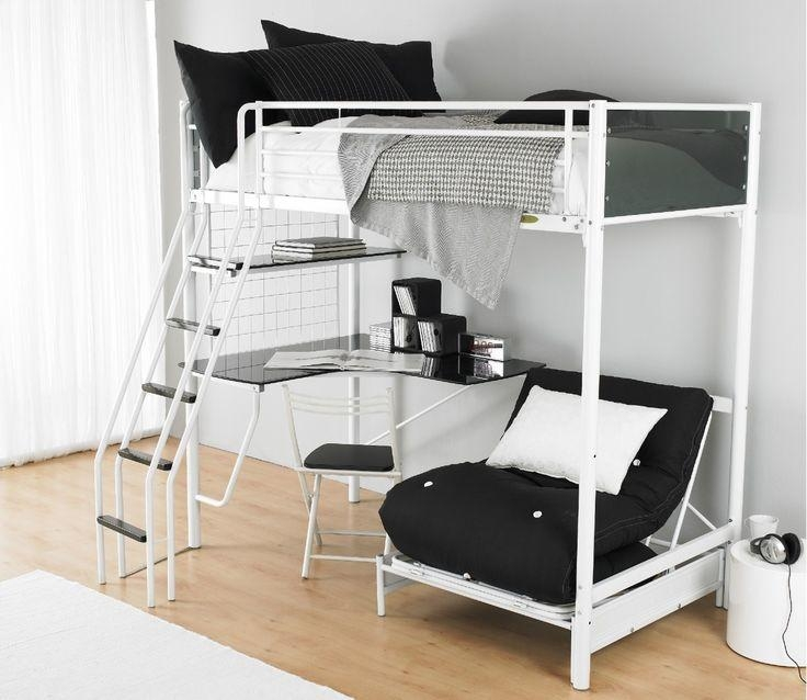 Best 25+ Couch Bunk Beds Ideas On Pinterest | Bunk Bed With Desk With Regard To Bunk Bed With Sofas Underneath (Image 6 of 20)
