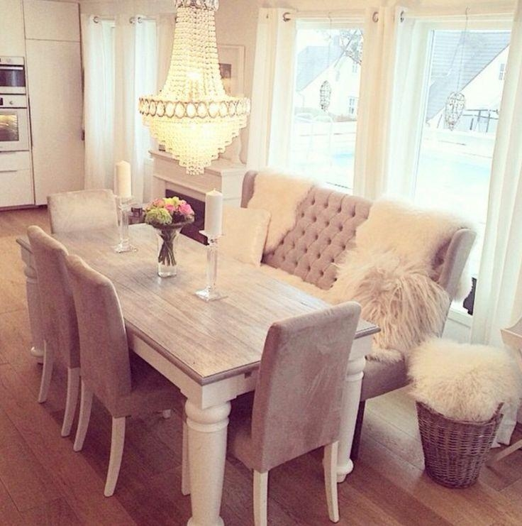 Best 25+ Couch Dining Table Ideas On Pinterest | Kitchen Table With Dining Room Bench Sofas (Image 3 of 20)