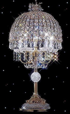 Best 25 Crystal Lamps Ideas On Pinterest Crystal Decor Bling Pertaining To Faux Crystal Chandelier Table Lamps (Image 10 of 25)