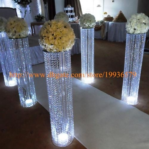 Best 25 Crystal Wedding Decor Ideas On Pinterest Crystal For Faux Crystal Chandelier Centerpieces (View 8 of 25)