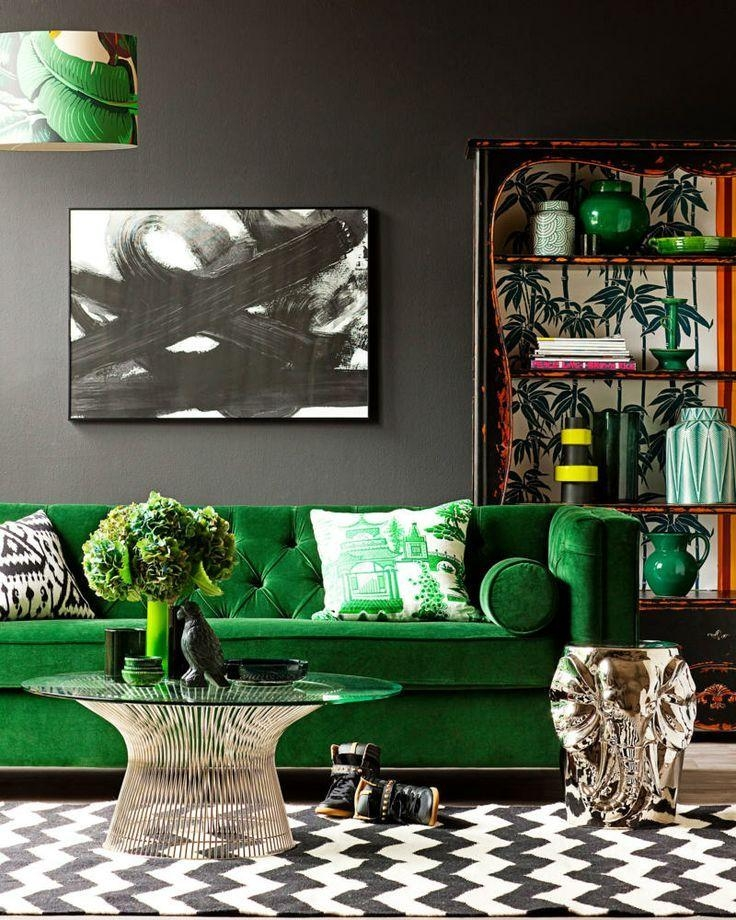 Best 25+ Dark Green Couches Ideas On Pinterest | Dark Teal, Teal Throughout Emerald Green Sofas (Image 5 of 20)