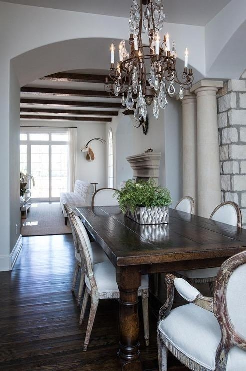 Best 25+ Dark Wood Dining Table Ideas On Pinterest | Dark Table Pertaining To Dark Wooden Dining Tables (View 13 of 20)