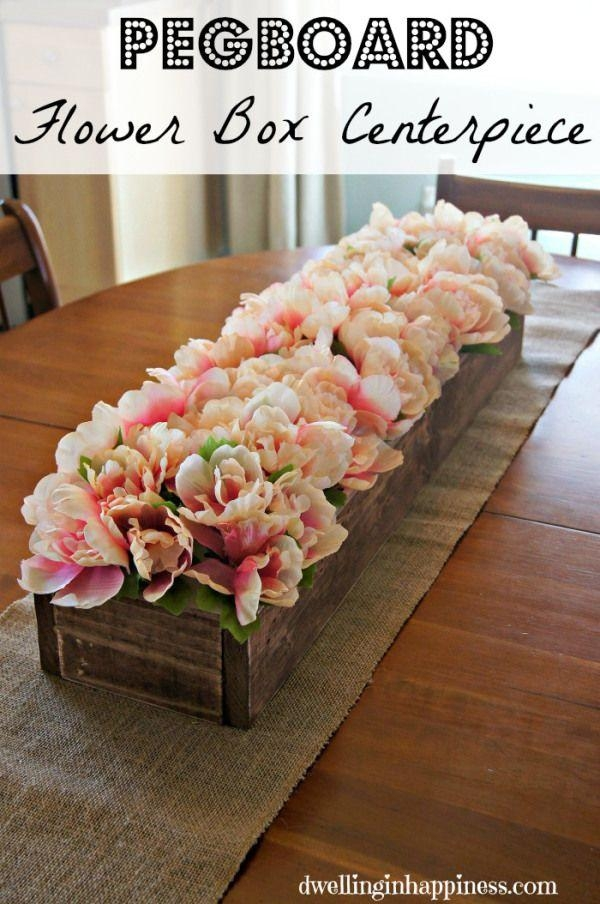 Best 25+ Dining Centerpiece Ideas On Pinterest | Dining Table With Artificial Floral Arrangements For Dining Tables (Image 10 of 20)