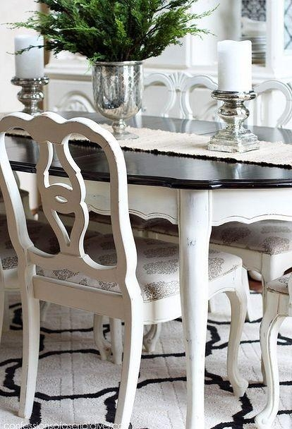 Best 25+ Dining Room Tables Ideas On Pinterest | Dining Room Table Inside Ivory Painted Dining Tables (Image 10 of 20)