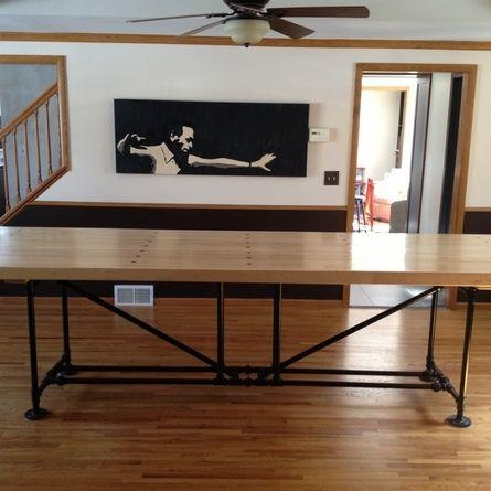 Best 25+ Dining Table Legs Ideas On Pinterest | Diy Table Legs Pertaining To Dining Tables With Large Legs (View 12 of 20)
