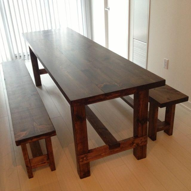 20 Collection Of Small Dining Tables And Bench Sets