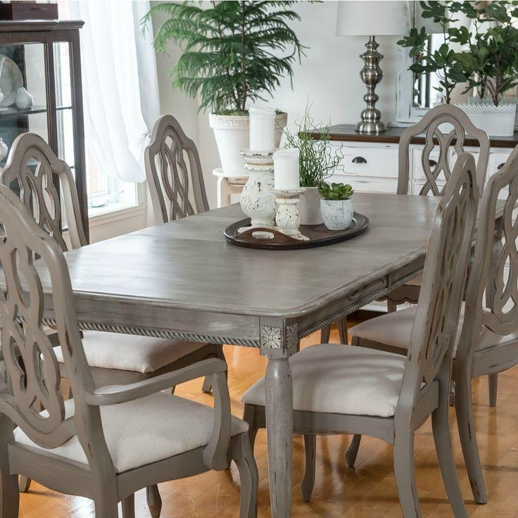 Best 25+ Distressed Dining Tables Ideas On Pinterest | Refinish Regarding Ivory Painted Dining Tables (View 15 of 20)