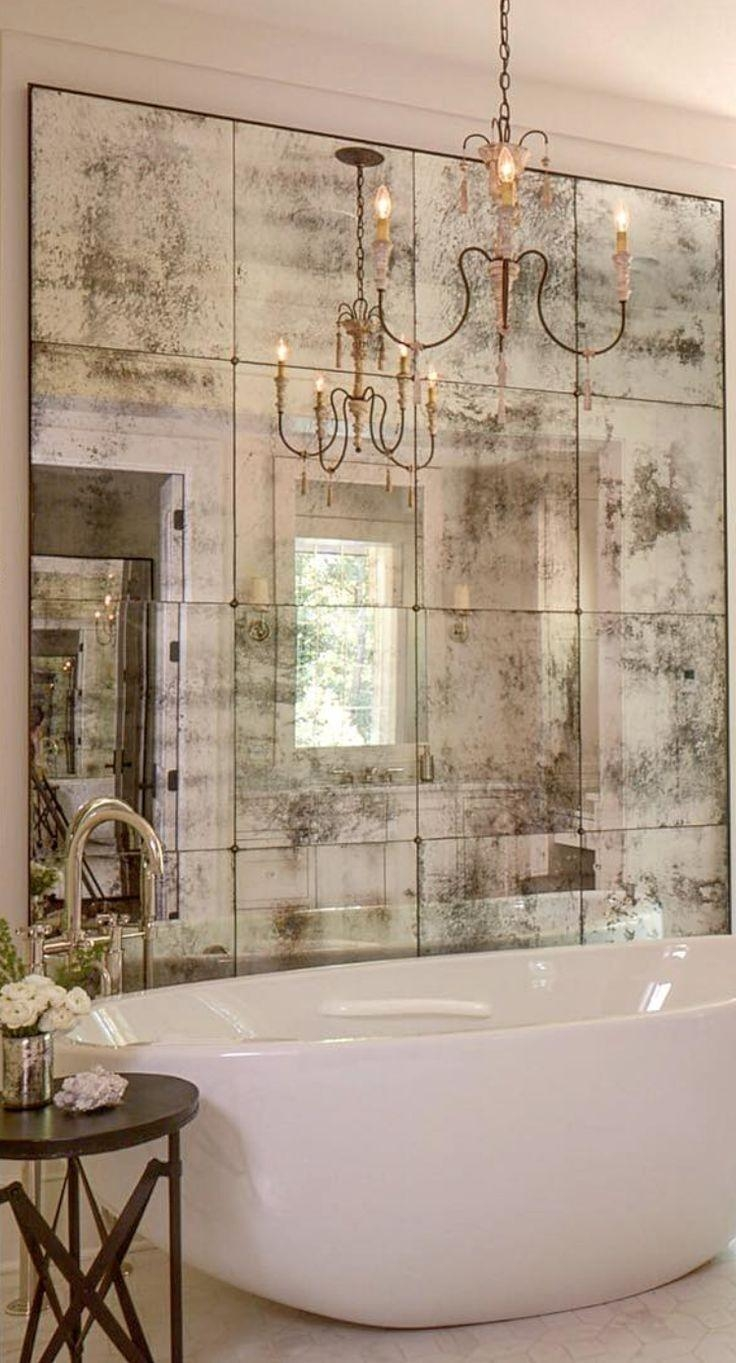 Best 25+ Distressed Mirror Ideas On Pinterest | Antiqued Mirror Throughout Big Antique Mirror (View 11 of 20)