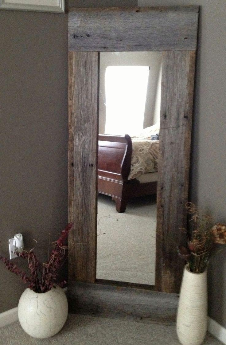 Best 25+ Diy Full Length Mirrors Ideas On Pinterest | Country Full Within Full Length Large Mirror (Image 5 of 20)