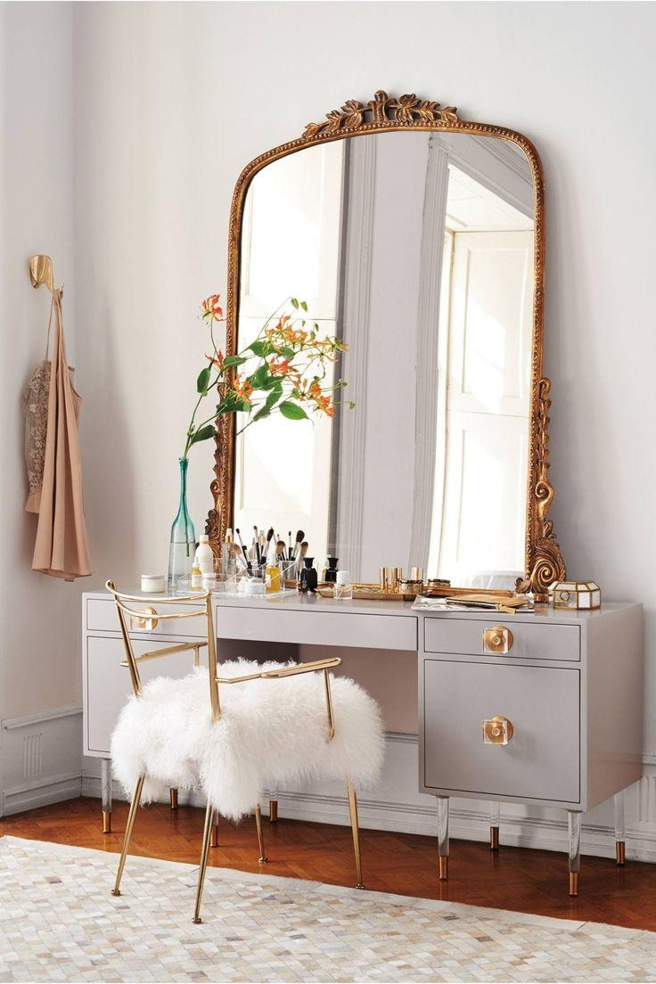 Best 25+ Dressing Tables With Mirror Ideas On Pinterest | Makeup Within Long Antique Mirror (Image 8 of 20)