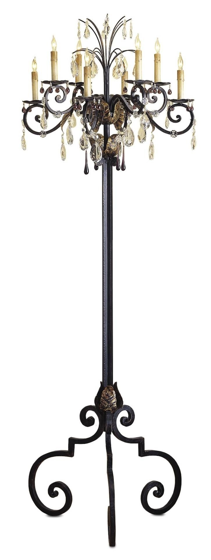 Best 25 Floor Candelabra Ideas On Pinterest Halloween With Regard To Standing Chandelier Floor Lamps (Image 1 of 25)