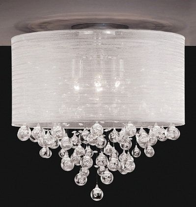 Best 25 Flush Mount Kitchen Lighting Ideas On Pinterest Hallway Throughout Wall Mount Crystal Chandeliers (Image 3 of 25)