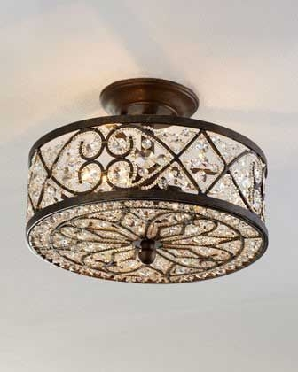 Best 25 Flush Mount Lighting Ideas On Pinterest Flush Mount Intended For Wall Mount Crystal Chandeliers (View 19 of 25)