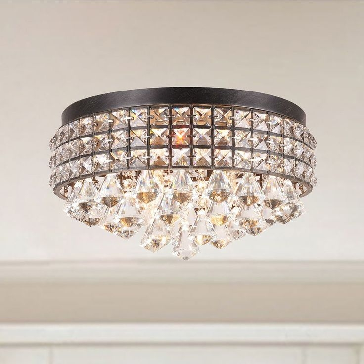 Best 25 Flush Mount Lighting Ideas On Pinterest Flush Mount Pertaining To Wall Mount Crystal Chandeliers (View 23 of 25)