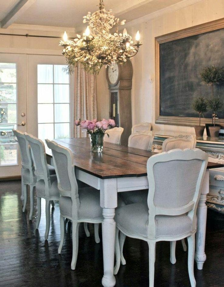 Best 25+ French Country Dining Table Ideas On Pinterest | French Inside Shabby Chic Cream Dining Tables And Chairs (Image 7 of 20)