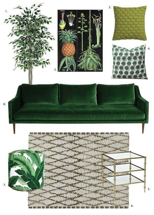 Best 25+ Green Sofa Ideas On Pinterest | Green Living Room Sofas For Green Sofas (Image 6 of 20)