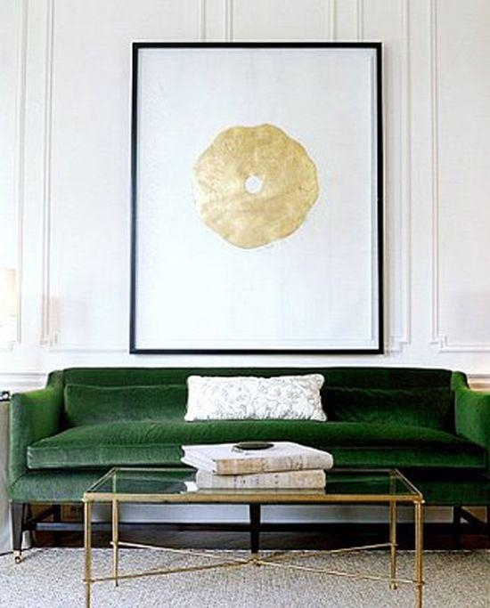 Best 25+ Green Sofa Ideas On Pinterest | Green Living Room Sofas With Green Sofas (Image 9 of 20)