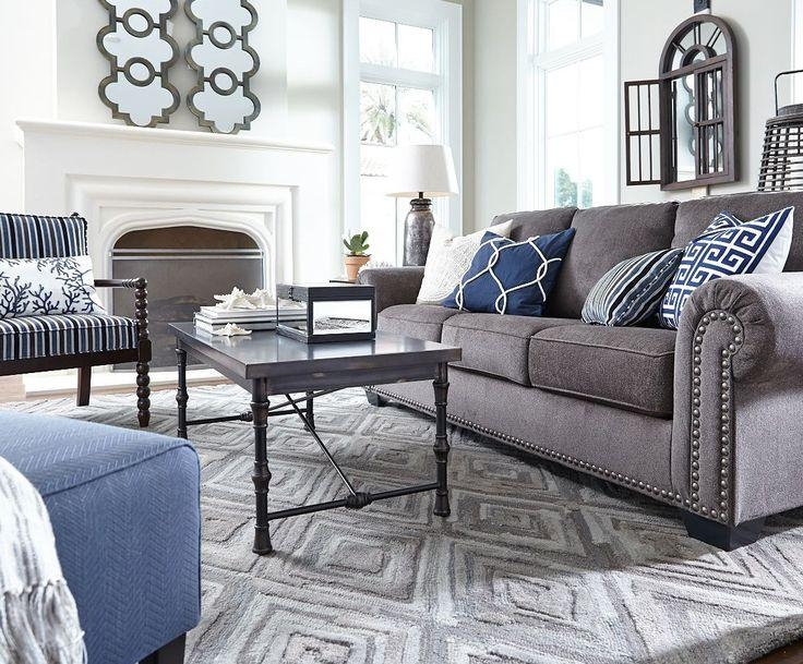 Best 25+ Grey Sofa Decor Ideas On Pinterest | Grey Sofas, Gray For Blue Gray Sofas (Image 6 of 20)