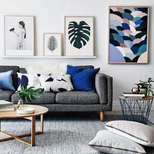 Best 25+ Grey Sofas Ideas On Pinterest | Grey Sofa Decor, Lounge With Blue Gray Sofas (Image 8 of 20)