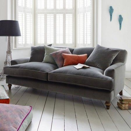Best 25+ Grey Velvet Sofa Ideas On Pinterest | Gray Velvet Sofa Inside Gray Sofas (Image 13 of 20)