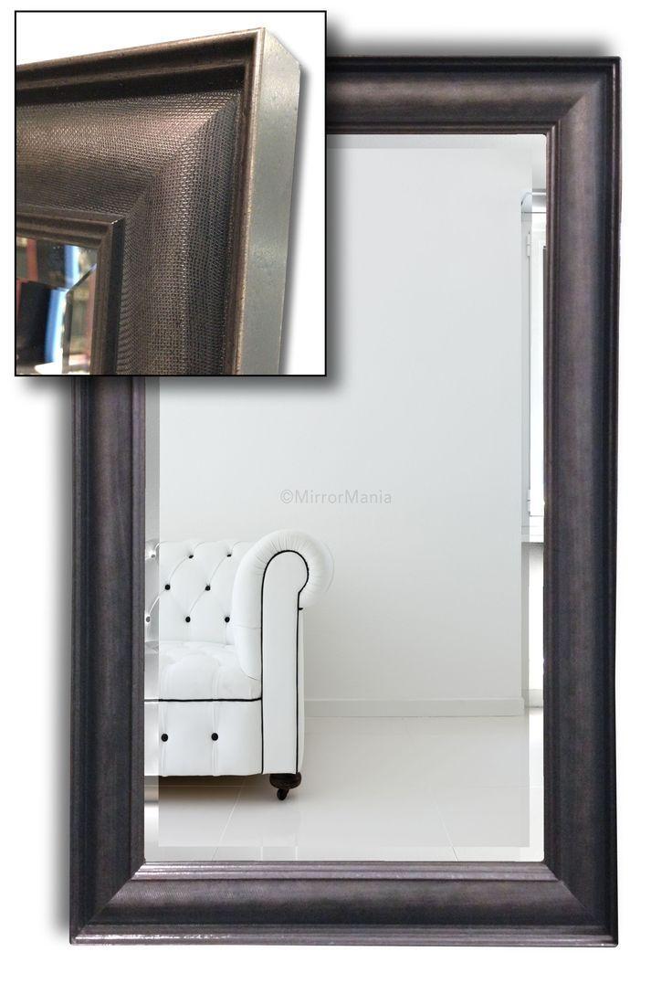 Best 25+ Handmade Framed Mirrors Ideas Only On Pinterest Regarding Glitter Frame Mirror (Image 4 of 20)