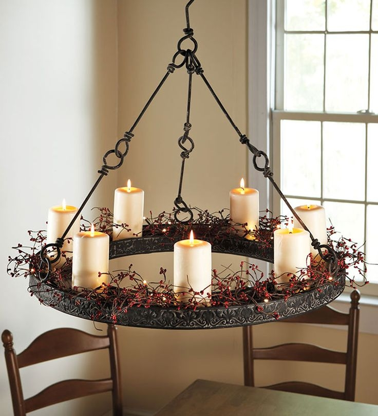 Best 25 Hanging Candles Ideas On Pinterest Rustic Candles With Wall Mounted Candle Chandeliers (Image 15 of 25)