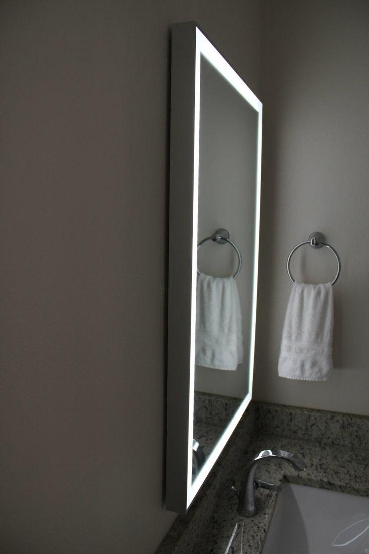 Best 25+ Illuminated Mirrors Ideas On Pinterest | Bathroom Mirror Regarding Illuminated Dressing Table Mirror (View 17 of 20)