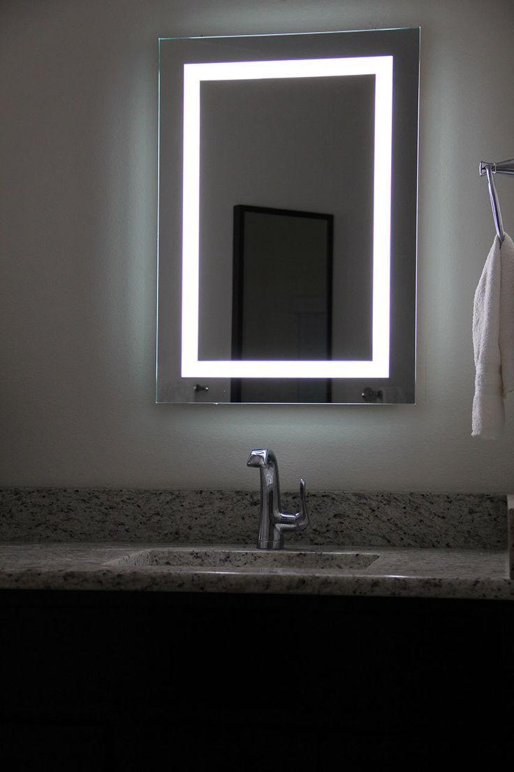 Best 25+ Illuminated Mirrors Ideas On Pinterest | Bathroom Mirror Within Large Illuminated Mirror (Image 11 of 20)
