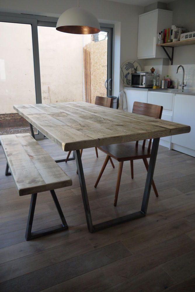 Best 25+ Industrial Dining Tables Ideas On Pinterest | Industrial Inside Industrial Style Dining Tables (Image 5 of 20)