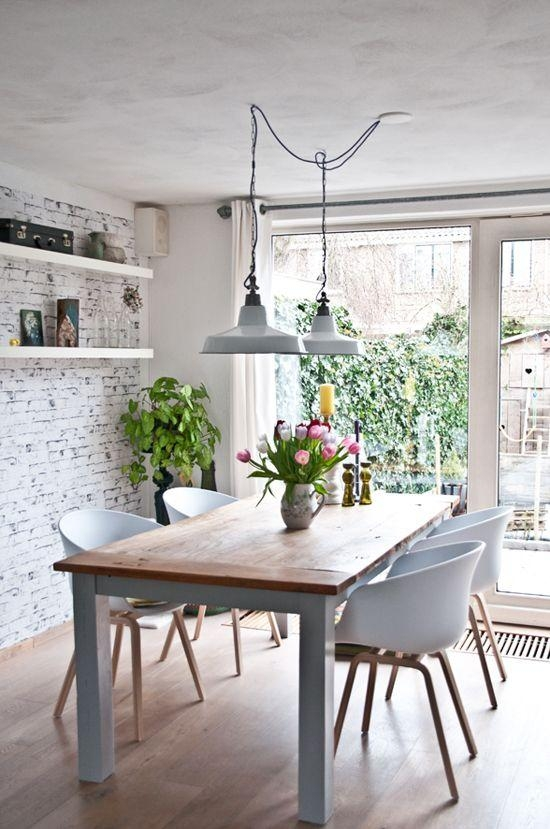 Best 25+ Kitchen Lighting Over Table Ideas On Pinterest Throughout Lighting For Dining Tables (View 3 of 20)
