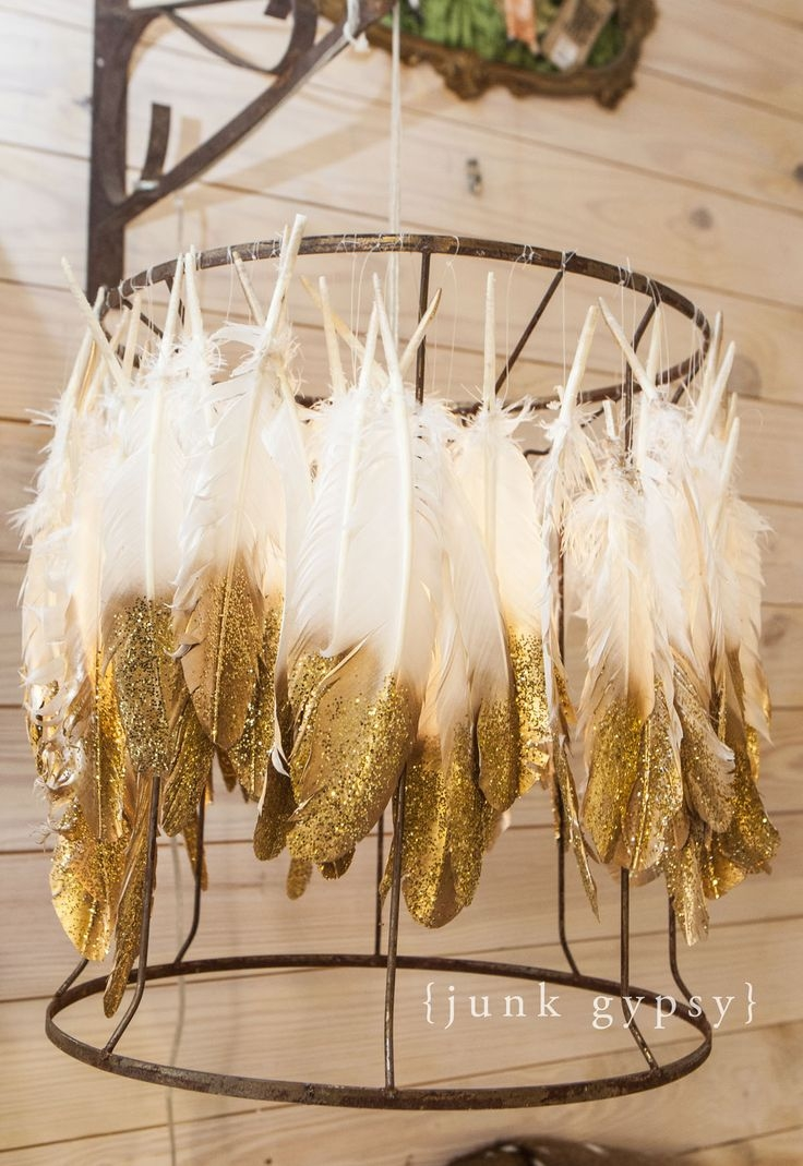 Best 25 Lampshade Chandelier Ideas On Pinterest Vintage Throughout Gypsy Chandeliers (Image 5 of 25)