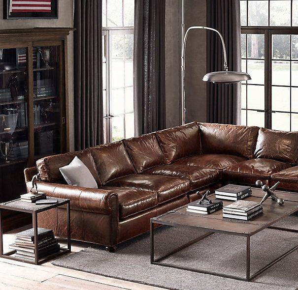 Best 25+ Leather Sectional Sofas Ideas On Pinterest | Leather Inside Brompton Leather Sofas (View 15 of 20)