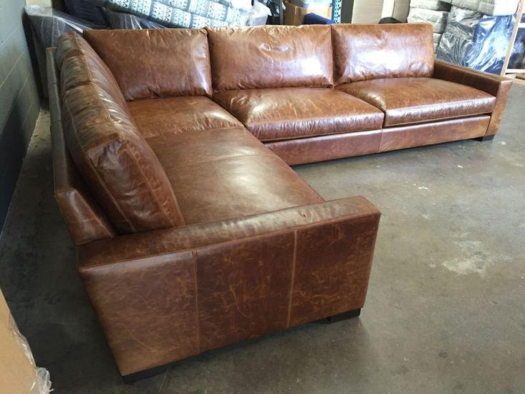 Best 25+ Leather Sectional Sofas Ideas On Pinterest | Leather Pertaining To Braxton Sectional Sofas (Image 1 of 20)
