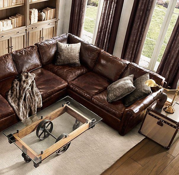Best 25+ Leather Sectionals Ideas Only On Pinterest | Leather Throughout Brompton Leather Sectional Sofas (Image 3 of 20)