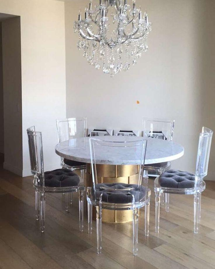 Best 25+ Lucite Table Ideas On Pinterest | Acrylic Table, Console With Round Acrylic Dining Tables (Image 12 of 20)