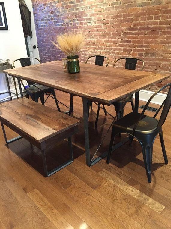 Best 25+ Metal Legs For Table Ideas On Pinterest | Legs For Tables With Dining Tables With Metal Legs Wood Top (View 6 of 20)