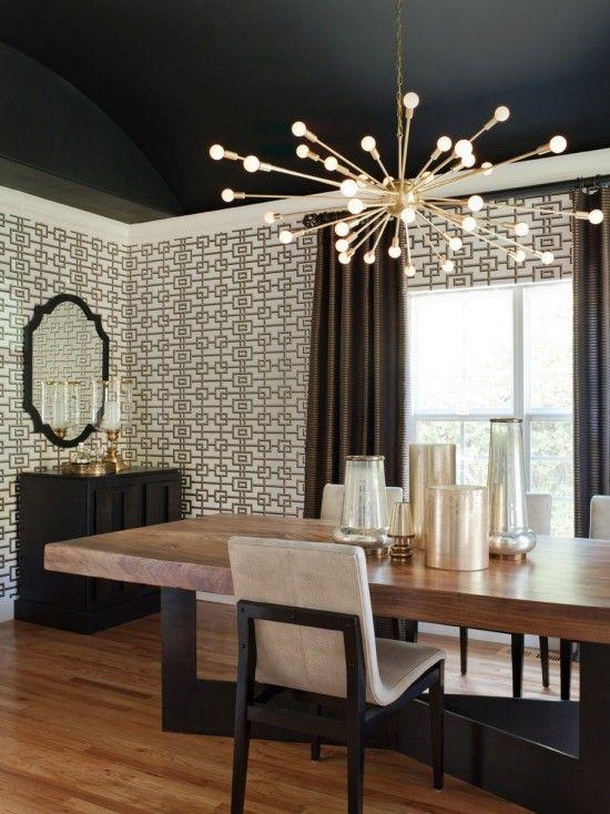 Best 25+ Modern Dining Room Lighting Ideas On Pinterest | Modern With Regard To Dining Tables Ceiling Lights (Image 7 of 20)