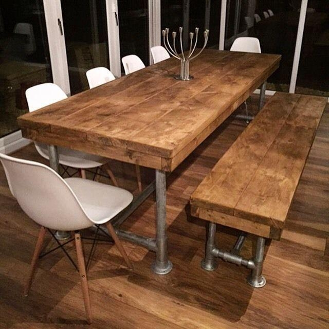 Best 25+ Modern Rustic Dining Table Ideas On Pinterest | Beautiful Regarding Rustic Dining Tables (View 2 of 20)