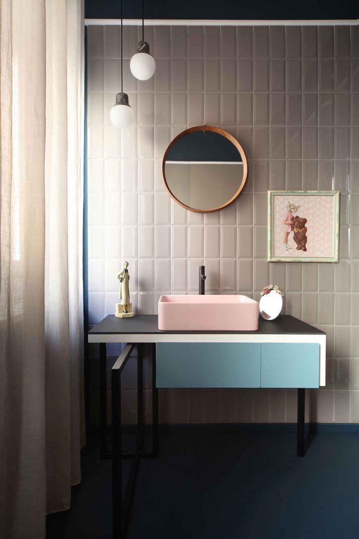 Best 25+ Modern Vintage Bathroom Ideas On Pinterest | Vintage With Retro Bathroom Mirror (Image 9 of 20)
