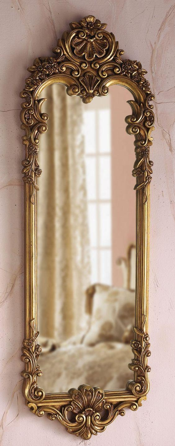 Best 25+ Ornate Mirror Ideas On Pinterest | Floor Mirrors, Large Throughout Vintage Long Mirror (Image 10 of 20)