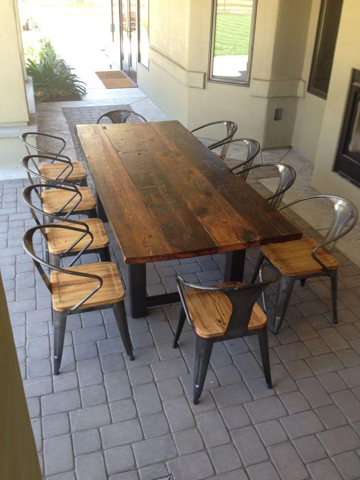 Best 25+ Outdoor Dining Tables Ideas On Pinterest | Patio Tables With Regard To Garden Dining Tables (Image 3 of 20)