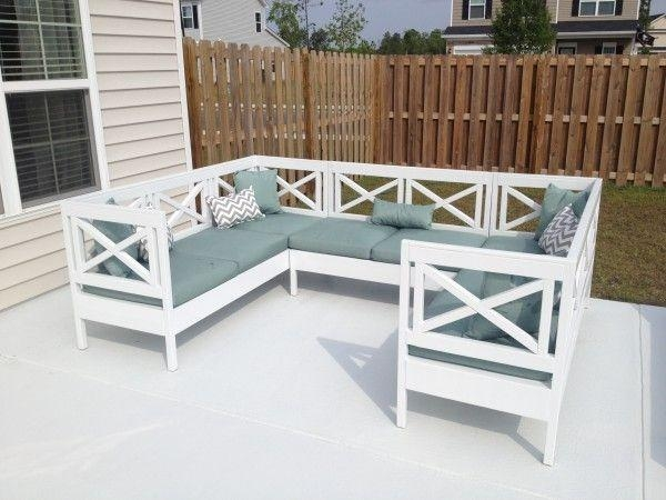 Best 25+ Outdoor Sectional Ideas On Pinterest | Sectional Patio Regarding Ana White Outdoor Sectional Sofas (Image 19 of 20)