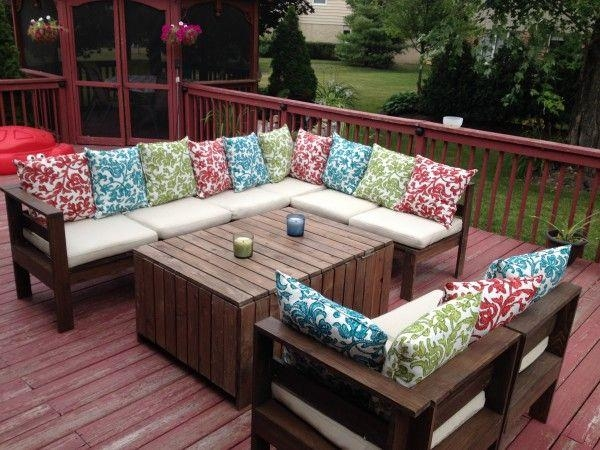Best 25+ Outdoor Sectional Ideas On Pinterest | Sectional Patio Regarding Ana White Outdoor Sectional Sofas (Image 18 of 20)